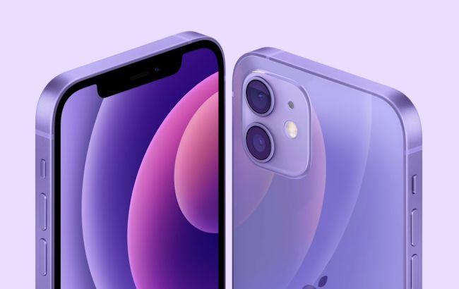 Apple представила iPhone 12 в новом цвете