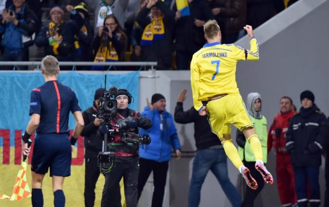Україна - Словенія: Львів приносить перемогу українцям