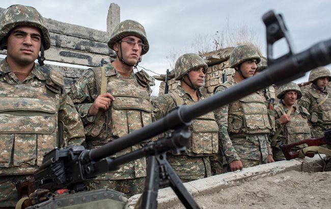 Фото: солдати Карабаху на лінії зіткнення