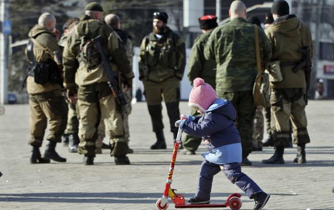 ЮНІСЕФ: від конфлікту на Донбасі постраждали 580 тис. дітей