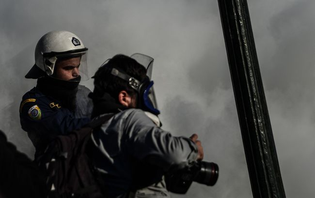 У Греції відбулися зіткнення між протестуючими і поліцією