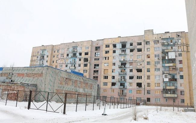 Фото: последствия обстрелов Авдеевки