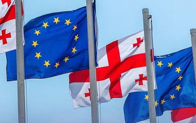 Фото: представители ЕС и Грузии подписали соглашение в Брюсселе