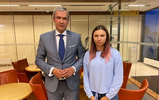 Білоруська спортсменка Тімановська прибула до Варшави