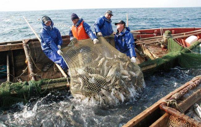 Фото: вылов рыбы