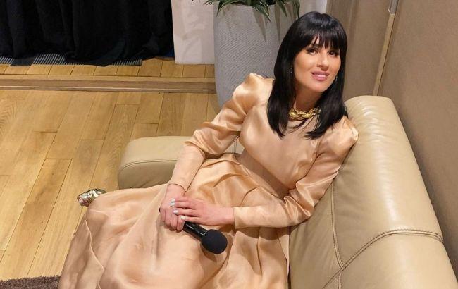 Королева: Маша Ефросинина блистала в роскошном платье за 14 тысяч гривен