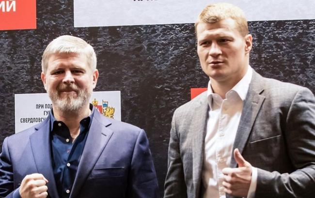 Бои Александра Поветкина в 2019 году