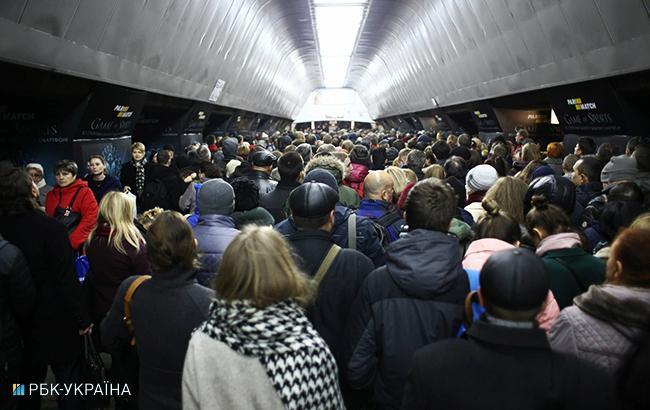 Фото: метро (Виталий Носач, РБК-Украина)