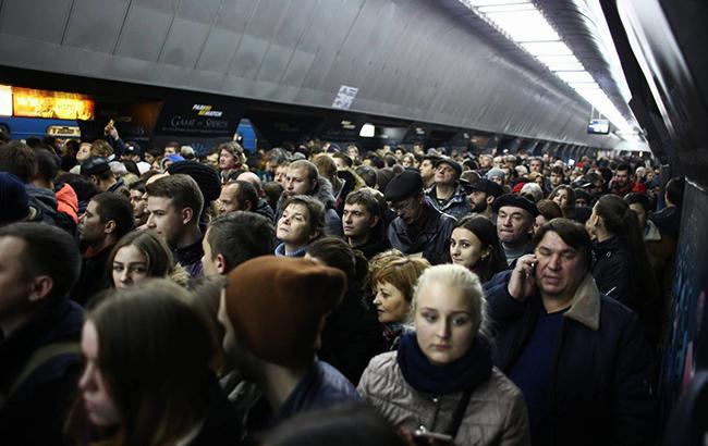 Фото: метро Киева (РБК-Украина)
