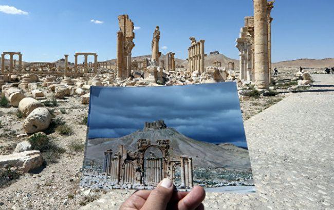 Фото: разрушения в Пальмире