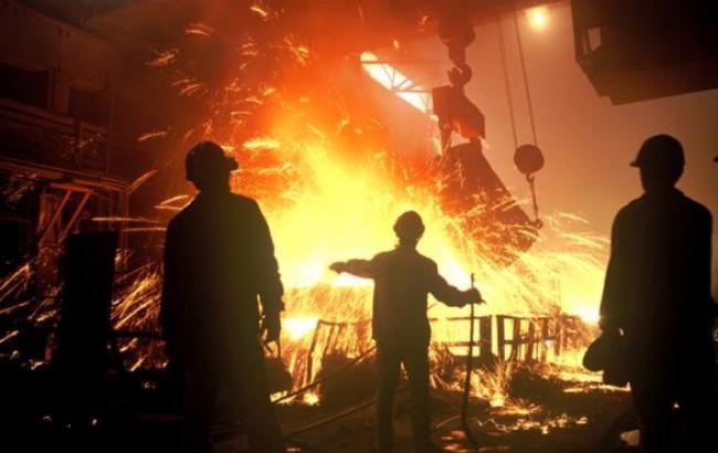 Фото: українська металургія за рік впала на 15,6%