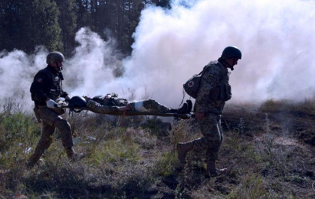 Боевики ранили украинского военного на Донбассе