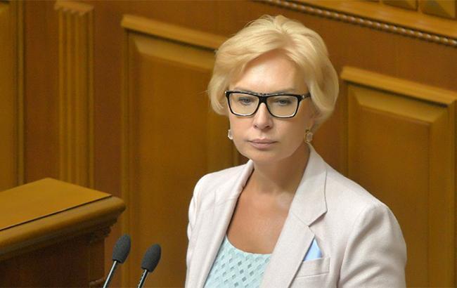 Денісова просить Пєскова повідомити Путіну про невиконання гарантій щодо візитів до політв