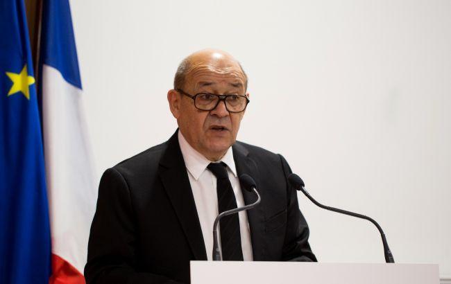 Глава МИД Франции раскритиковал санкции России против Евросоюза