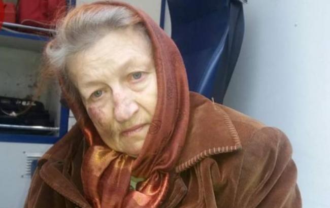 Фото: Женщина (facebook.com/KyivOperativ)