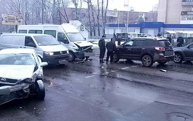 Фото: ДТП (ГУ НП в Хмельницкой области)
