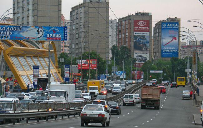 Фото: у Києві починають капітальний ремонт магістралі по вулиці Гетьмана