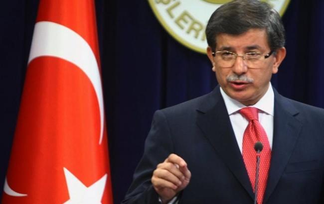 Фото: прем'єр-міністр Туреччини Ахмет Давутоглу