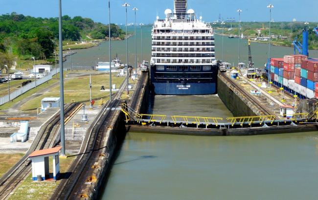Фото: Панамский канал