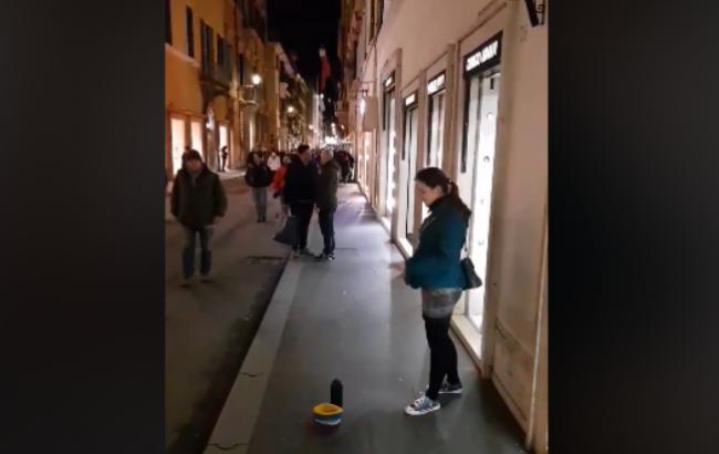 София Чайка (Скриншот с видео)