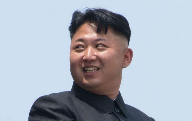Фото: лидер Северной Кореи Ким Чен Ын