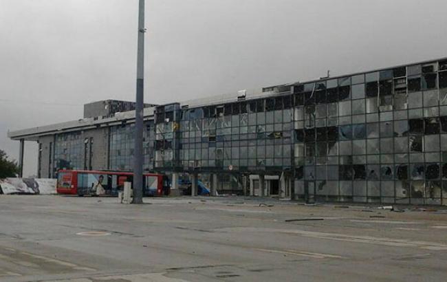 Силы АТО во время отражения атаки на донецкий аэропорт уничтожили 10 боевиков, - пресс-центр