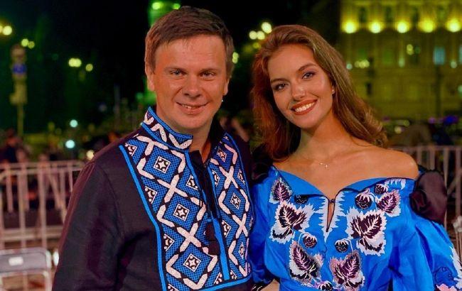 Дружина Дмитра Комарова показала знаковий момент знайомства з коханим: щастя звалилося на голову
