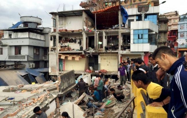 Фото: в Непале возле Эвереста произошло землетрясение магнитудой 5,4