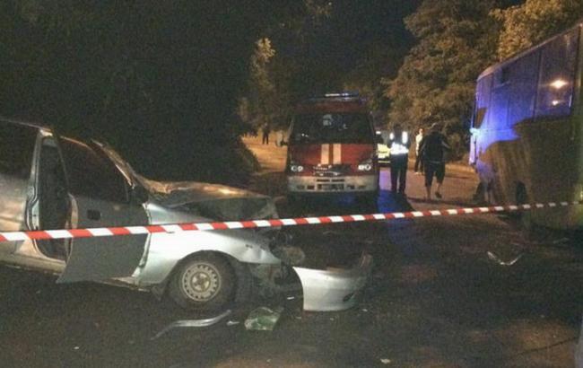 Фото: в аварии в Харькове погибли полицейские