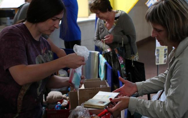 Вгосударстве Украина официально зарегистрировано 1,3 млн семей переселенцев