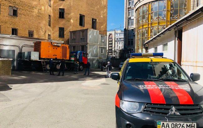 Обесточивание на Майдане в Киеве: названы сроки завершения ремонта