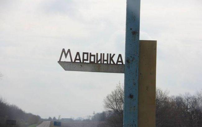 Впроцессе обстрела боевиками Марьинки получили ранения двое гражданских