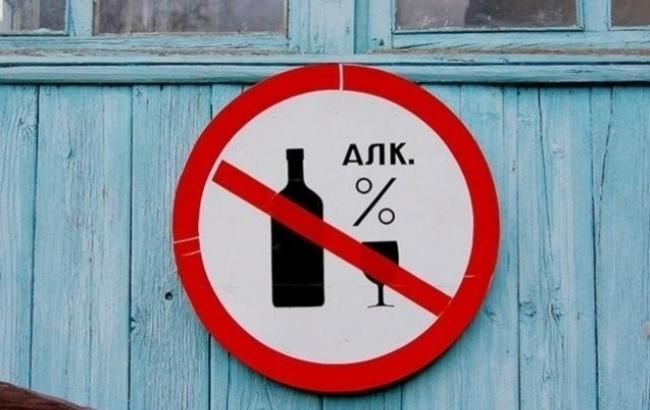 Фото: Запрет на продажу алкоголя вступил в силу с 1 октября  (kp.ua)