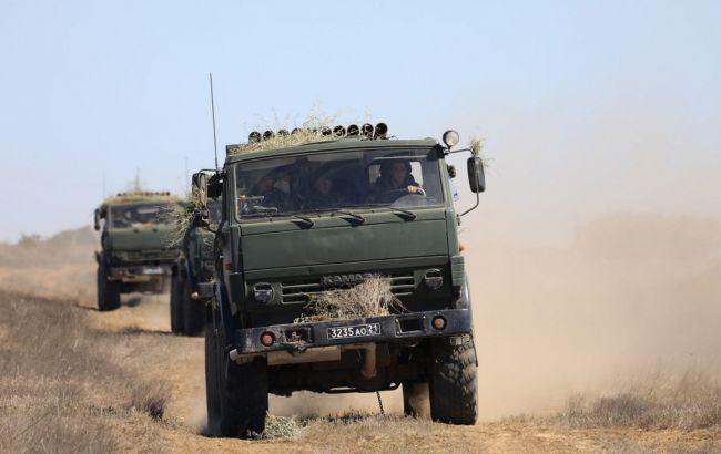 Россия провела артиллерийские учения в оккупированном Крыму