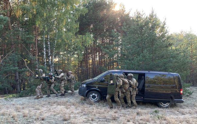 """""""Диверсия"""" на АЭС: бойцы СБУ провели учения возле границы с Беларусью"""