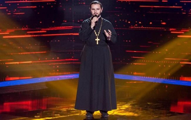 Священник из шоу Голос країни оказался противником Майдана