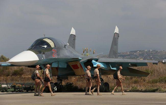 Фото: российская авиагруппа в Сирии