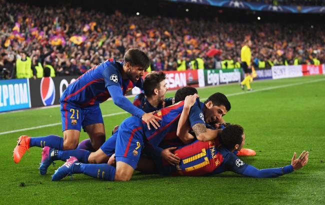Фото: Барселона - ПСЖ