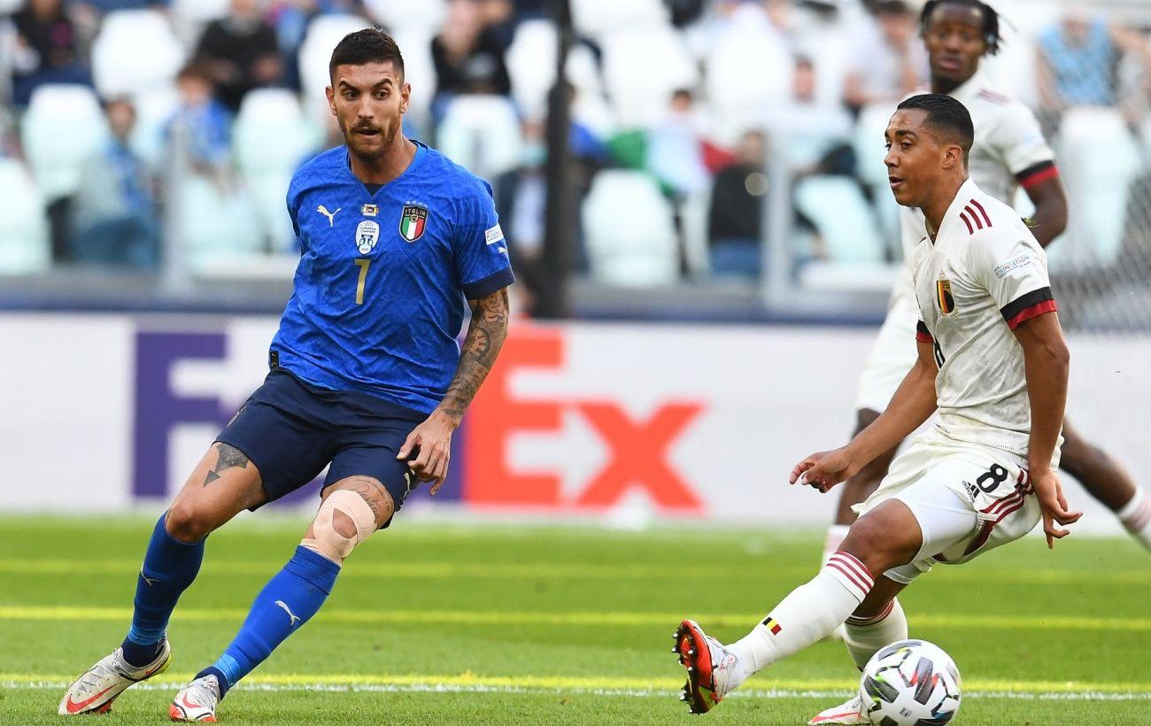 Италия в матче за «бронзу» Лиги наций переиграла Бельгию
