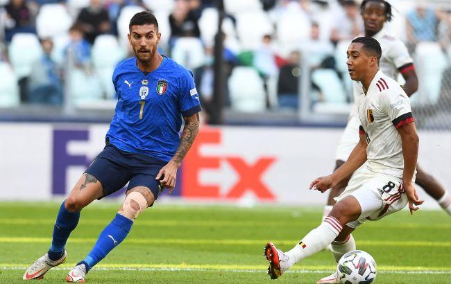 """Италия в матче за """"бронзу"""" Лиги наций переиграла Бельгию"""