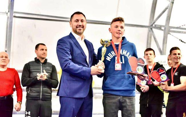 Стрихарский поддержал матчевую встречу по боксу среди подростковых команд из Киева и Житомира
