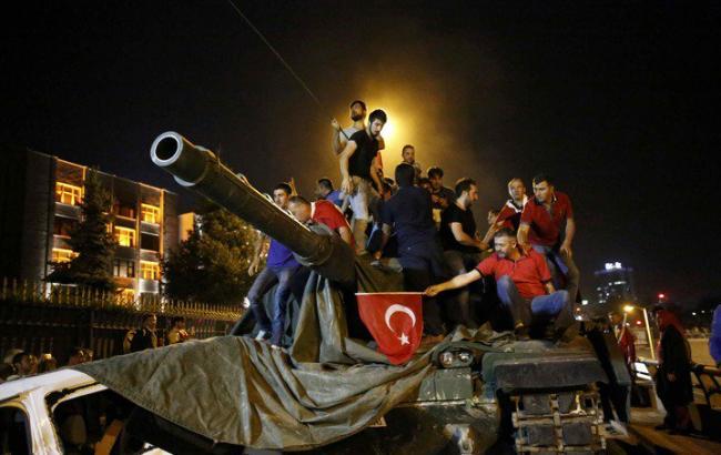 Фото: переворот в Турції