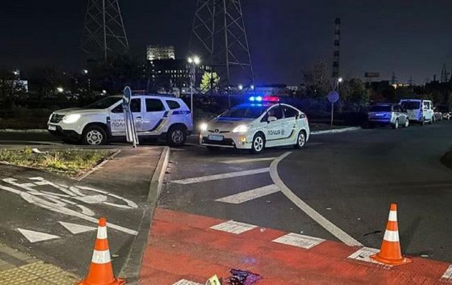 У Києві п'яний водій самоскида збив пішоходів на переході (фото)