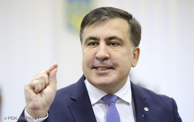 """Переговори з МВФ і """"червоні лінії"""": Саакашвілі розповів, чим буде займатися в Кабміні"""