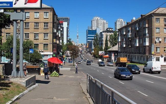 Фото: улица Вадима Гетьмана в Киеве