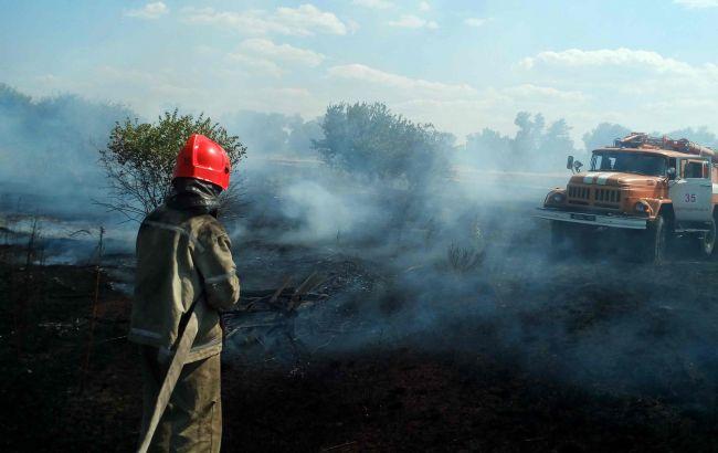 В Украине объявлен наивысший уровень пожарной опасности