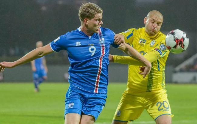 Фото: Исландия - Украина (uefa.com)