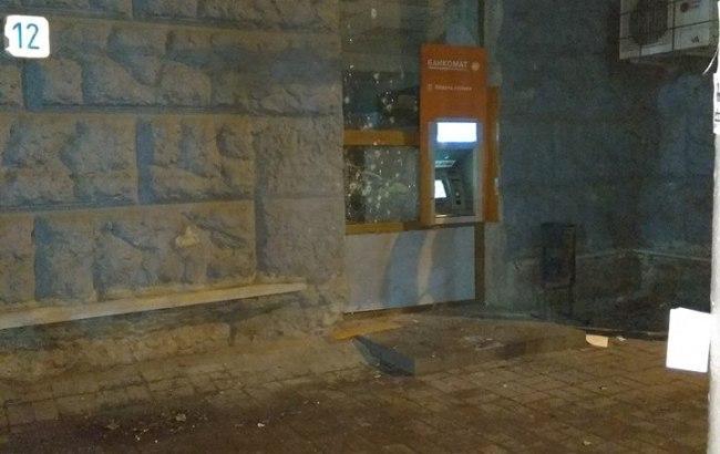 У Херсоні підірвали банкомат російського банку