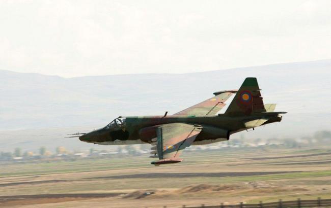 ВАрмении разбился штурмовик, пилоты погибли
