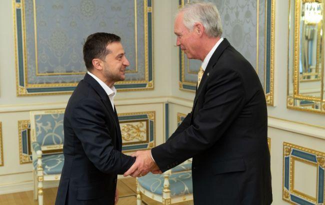 Зеленський обговорив з сенаторами США підтримку України у сферах безпеки та енергетики